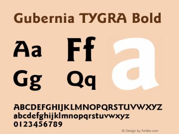 Gubernia TYGRA