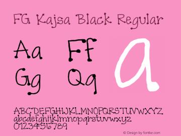 FG Kajsa Black