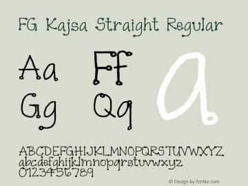 FG Kajsa Straight