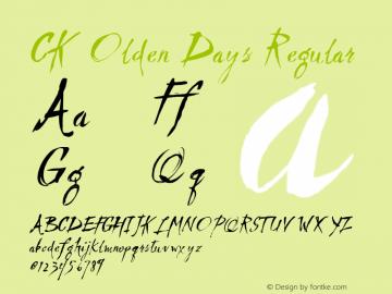 CK Olden Days
