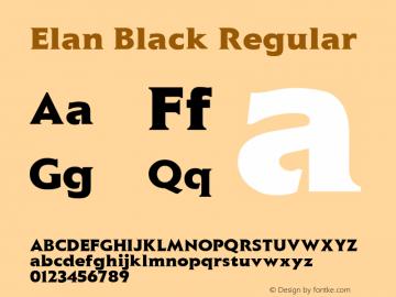 Elan Black