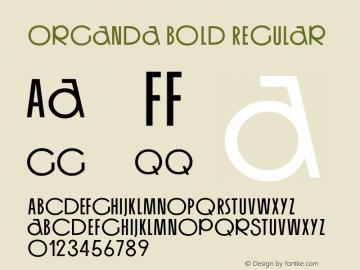 Organda Bold
