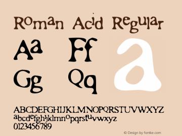 Roman Acid