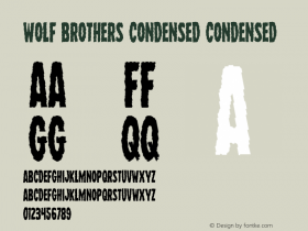 Wolf Brothers Condensed