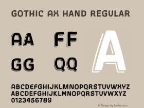 Gothic AX Hand
