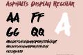 Asphalts Display