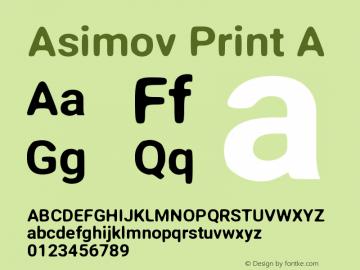 Asimov Print