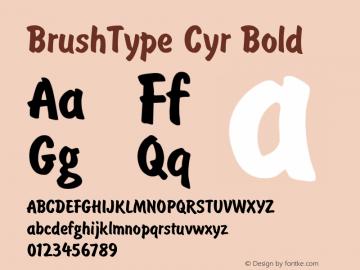 BrushType Cyr