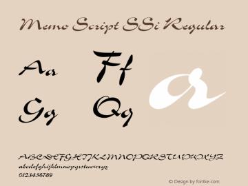 Memo Script SSi