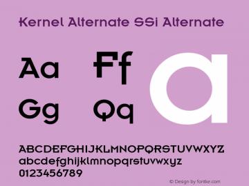 Kernel Alternate SSi