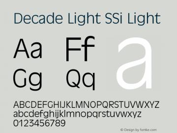 Decade Light SSi