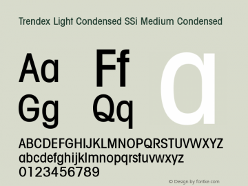 Trendex Light Condensed SSi