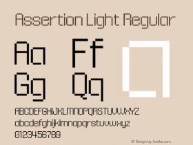 Assertion Light