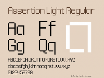 Assertion Light