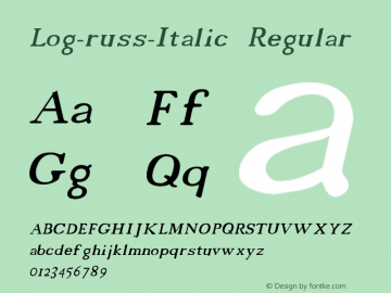 Log-russ-Italic