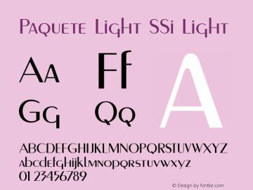 Paquete Light SSi