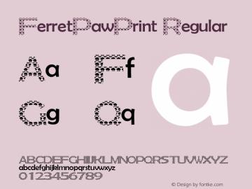 FerretPawPrint