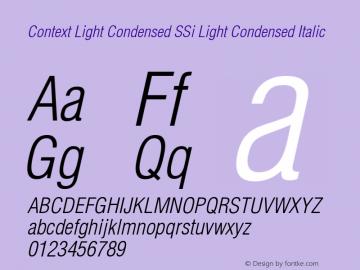 Context Light Condensed SSi