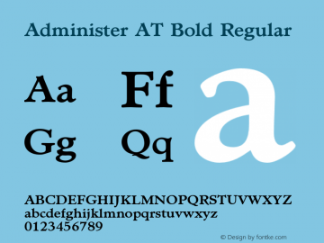 Administer AT Bold