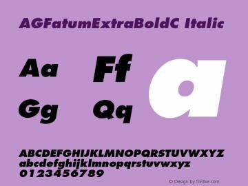 AGFatumExtraBoldC