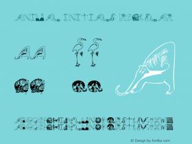 Animal Initials