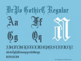 DrPo GothicC