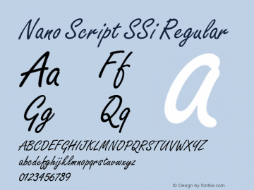 Nano Script SSi