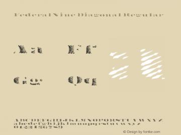 FederalNine Diagonal