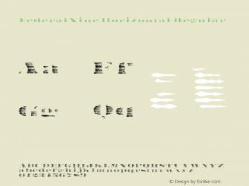 FederalNine Horizontal