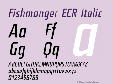 Fishmonger ECR