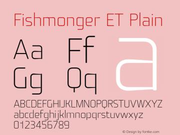 Fishmonger ET