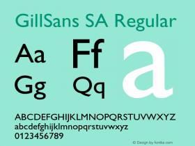 GillSans SA