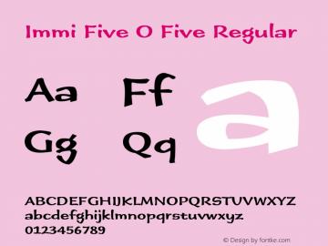 Immi Five O Five