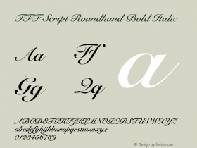 TFF Script Roundhand