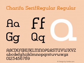 Charifa SerifRegular