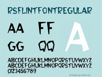 RSFlintFont