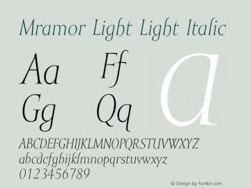Mramor Light