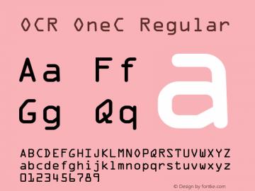 OCR OneC