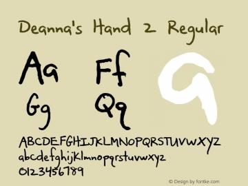 Deanna's Hand 2