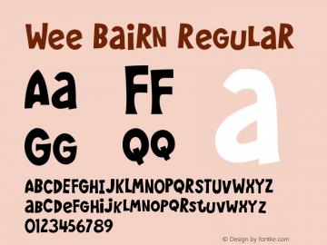 Wee Bairn