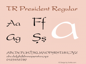TR President