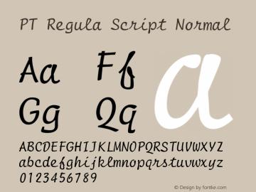 PT Regula Script