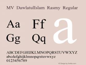 MV DawlatulIslam Rasmy