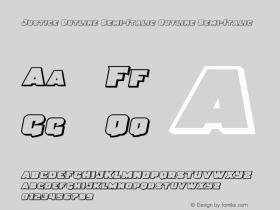 Justice Outline Semi-Italic