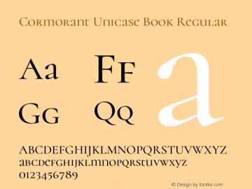 Cormorant Unicase Book