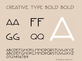 Creative Type Bold