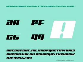 Michigan Condensed Semi-Italic