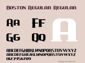 Boston Regular