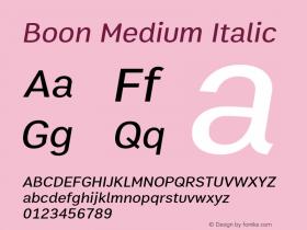 Boon Medium