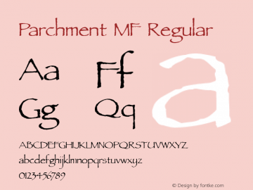 Parchment MF